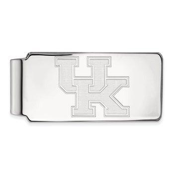 Sterling Silver University of Kentucky NCAA Money Clip