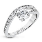 Simon G LR2822 ENGAGEMENT RING