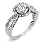 Zeghani ZR799 ENGAGEMENT RING