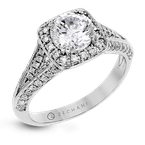 Zeghani ZR1416 ENGAGEMENT RING