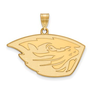 Gold Oregon State University NCAA Pendant