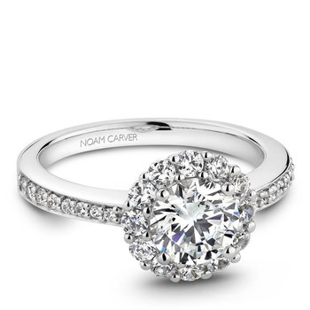 Noam Carver Modern Engagement Ring B100-07A