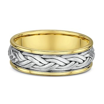 Fancy Braided Wedding Band