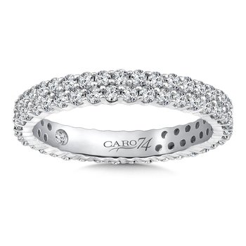 Eternity Band (Size 6.5) in 14K White Gold (1.04ct. tw.)