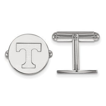 Sterling Silver University of Tennessee NCAA Cuff Links