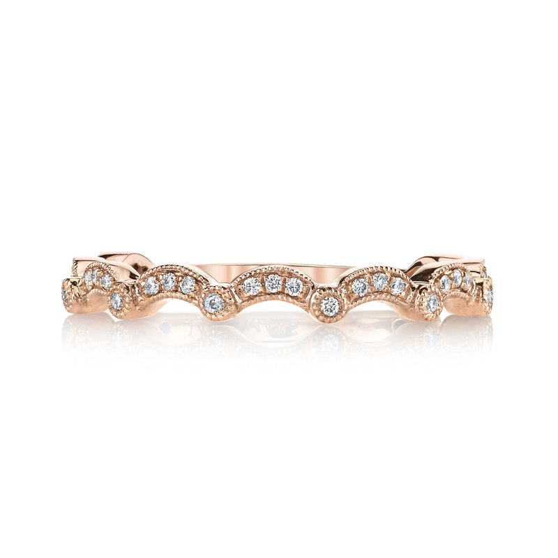 MARS Jewelry MARS 26624 Diamond Wedding Band, 0.12 Ctw.