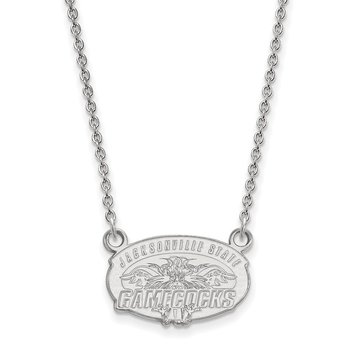 Gold Jacksonville State University NCAA Necklace