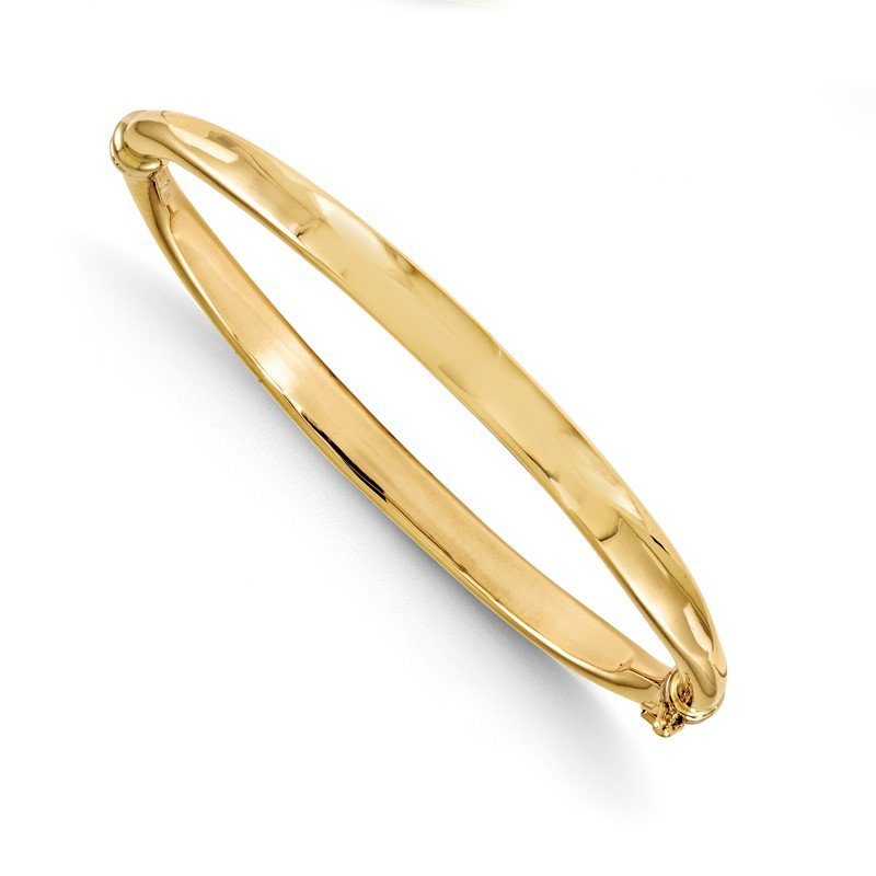 Leslie's Leslie's 14k Polished Hinged Bangle