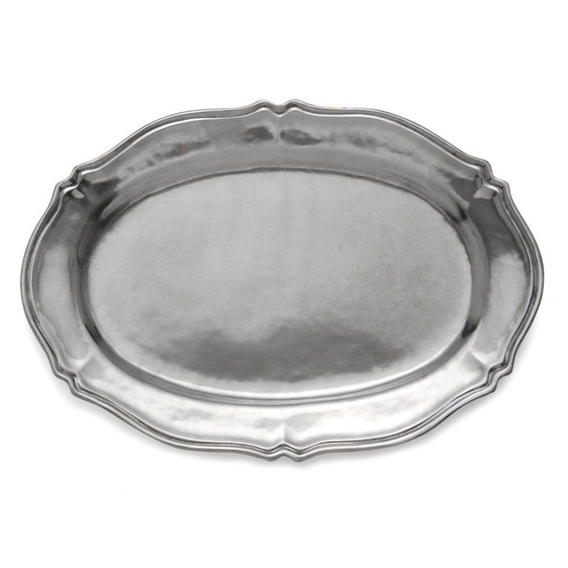 Arte Italica Scalloped Tray