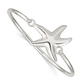 Sterling Silver with Interchangeable Nautical Charms 3.00mm Bangle