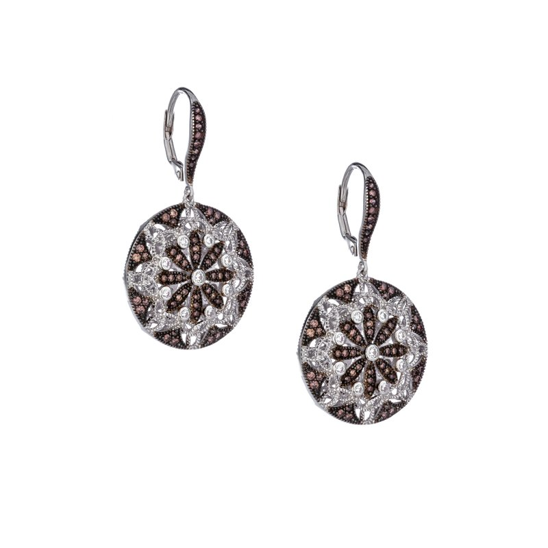 Keith Jack Night & Day Round Earrings
