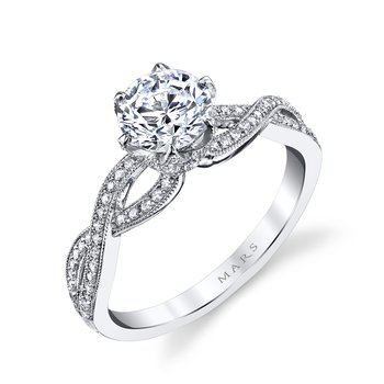 MARS 26215 Diamond Engagement Ring 0.21 ctw