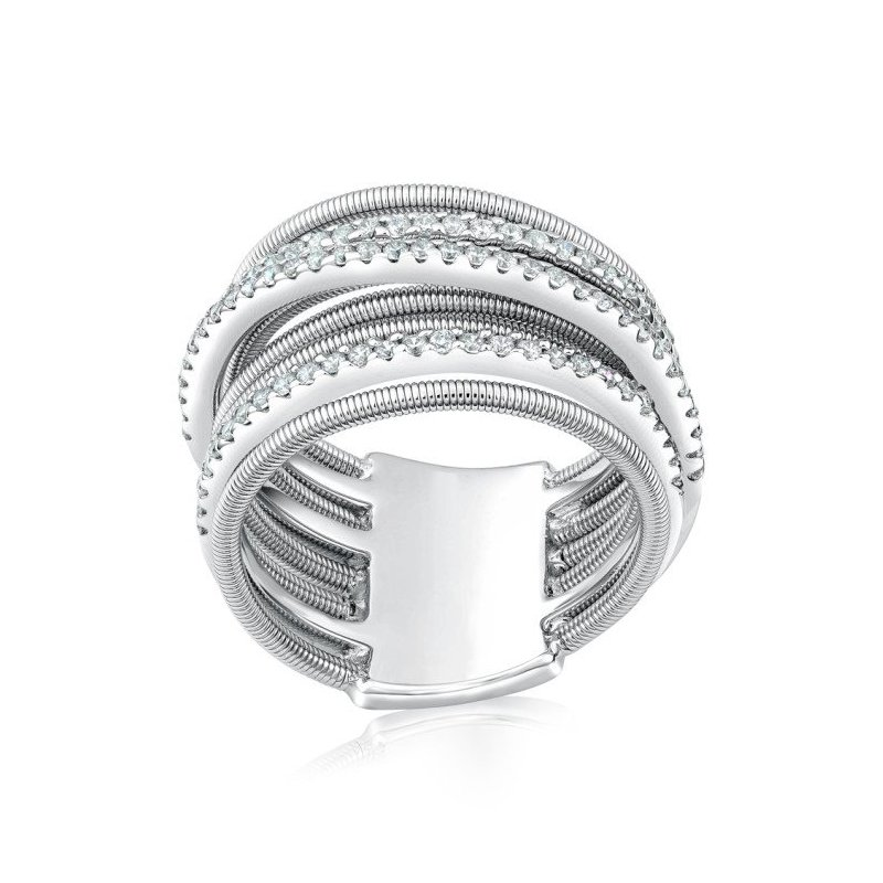 LARUS Jewelry Coil Wire Ring