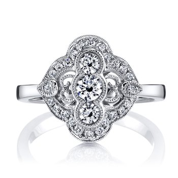 MARS 25348 Diamond Engagement Ring 0.56 Ctw.