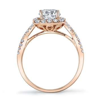 25560 Diamond Engagement Ring 0.58 ct tw