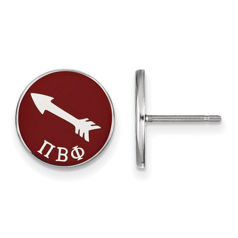 Greek Life Sterling Silver Pi Beta Phi Greek Life Earrings