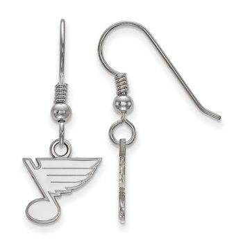 Sterling Silver St. Louis Blues NHL Earrings