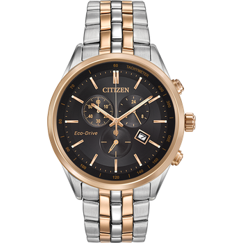 CORSO Men's Citizen Eco-Drive® Chronograph Two-Tone Watch