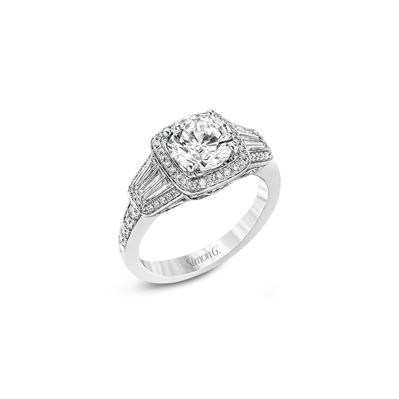Simon G MR2523 ENGAGEMENT RING