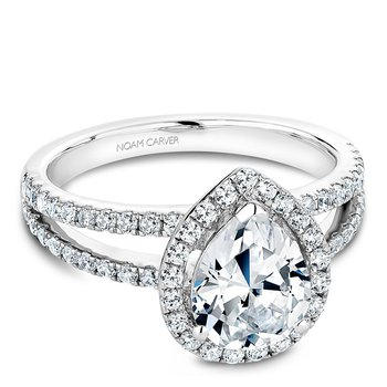 Noam Carver Fancy Engagement Ring B092-03A
