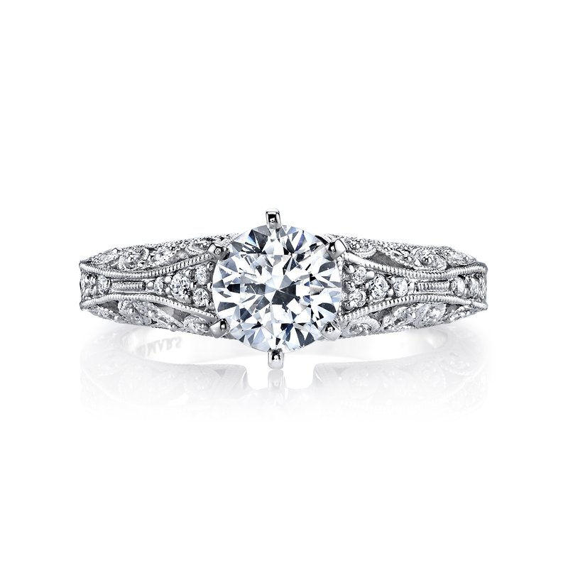 MARS Jewelry MARS 25777 Diamond Engagement Ring, 0.16 Ctw.