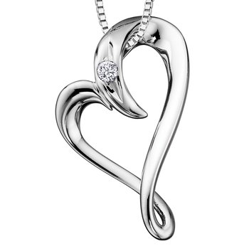 I am Canadian™ Diamond Solitaire Pendant