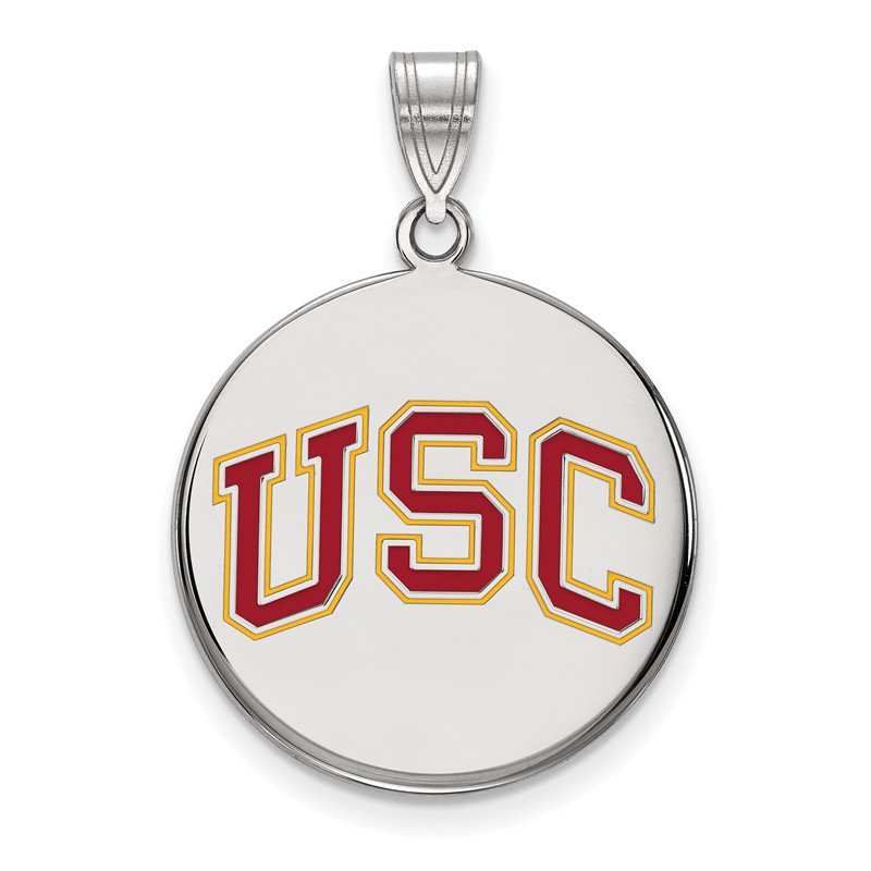 NCAA Sterling Silver University of Southern California NCAA Pendant