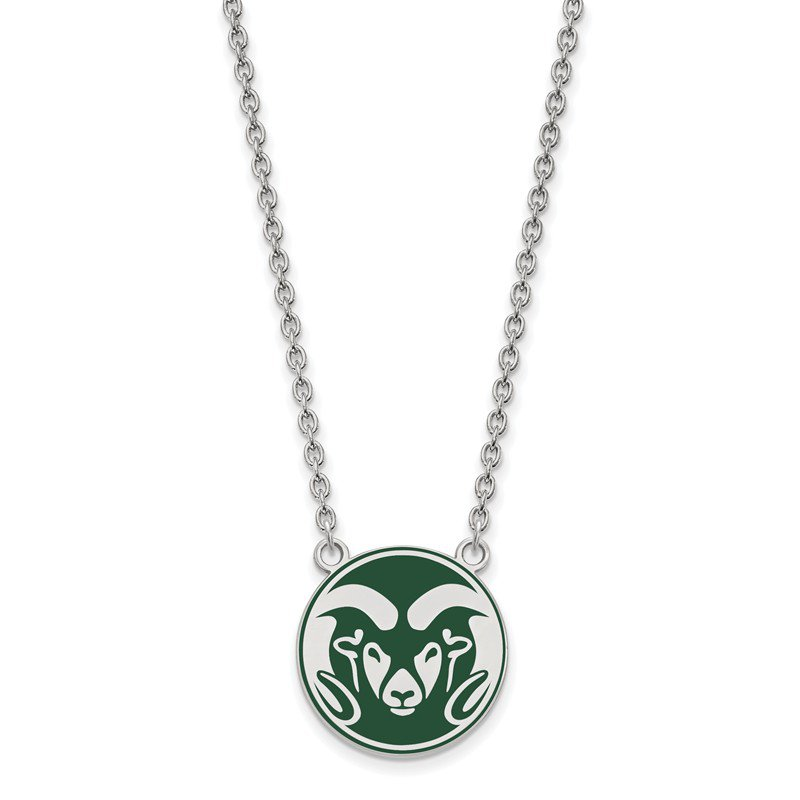 NCAA Sterling Silver Colorado State University NCAA Necklace