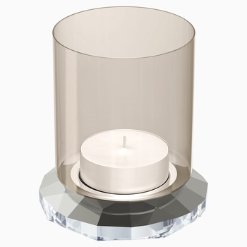 Allure Tea Light, Silver Tone