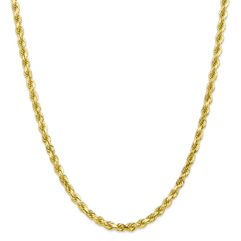 Leslie's Leslie's 10K 4.5mm Diamond-Cut Rope Chain
