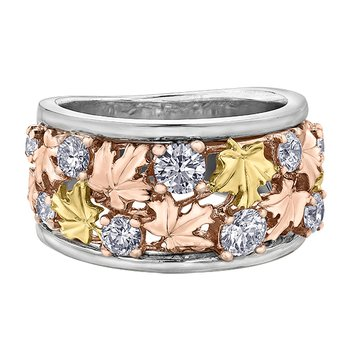 Maple Leaf Diamond, Seasons™ by Shelly Purdy, Ladies Ring