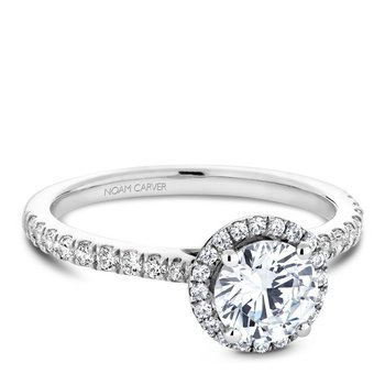 Noam Carver Modern Engagement Ring B142-05A