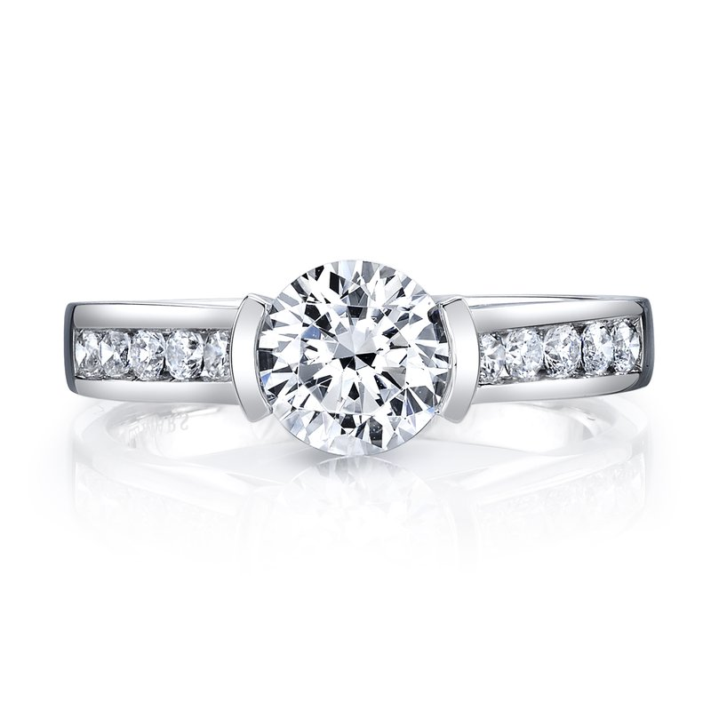 MARS Jewelry MARS 25726 Diamond Engagement Ring, 0.29 Ctw.