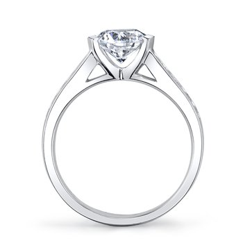 MARS 25726 Diamond Engagement Ring, 0.29 Ctw.