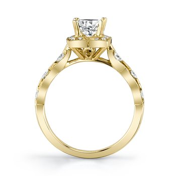 MARS 27156 Engagement Ring, 0.25 Ctw.