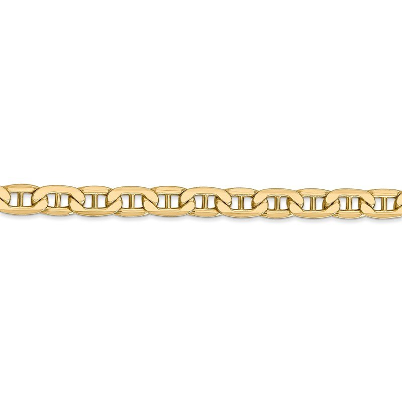 Quality Gold 14k 5.5mm Semi-Solid Anchor Chain