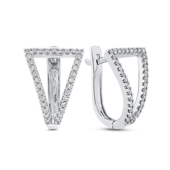 3/8 Ct Diamond Fashion Earrings