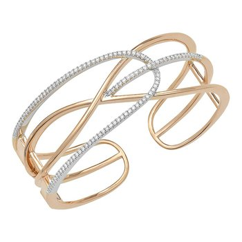 Diamond Fashion Cuff - FDC1234RW