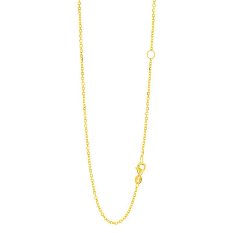 Royal Chain 14K Gold 1.5mm Extendable Chain