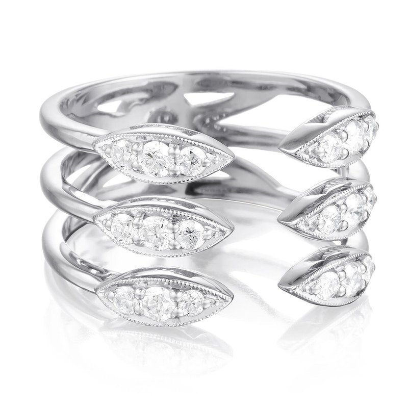 Tacori Fashion Triple Stacked Surfboard Ring