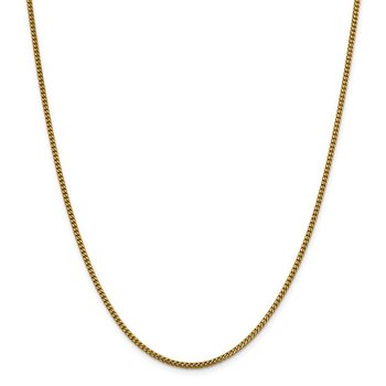 Leslie's 14K 2 mm Franco Chain