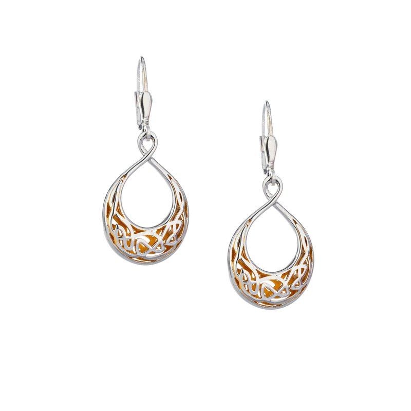 Keith Jack Window to the Soul Teardrop Earrings