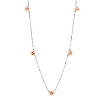 Rose Plentiful Paws Necklace
