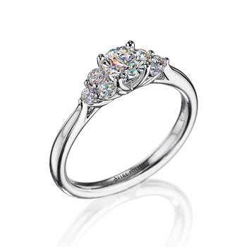 Engagement Ring 3/4 CTTW