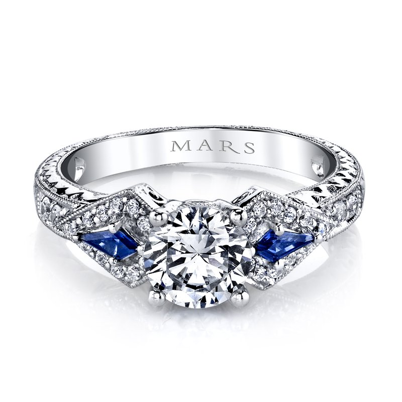MARS Jewelry - Engagement Ring 25774