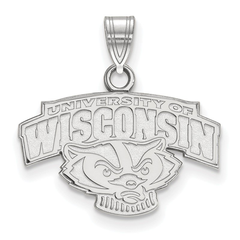 NCAA Gold University of Wisconsin NCAA Pendant