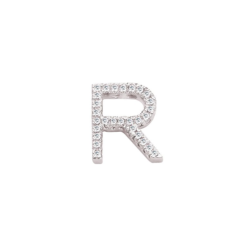 S. Kashi  & Sons Alphabet Fishtail Series Letter R
