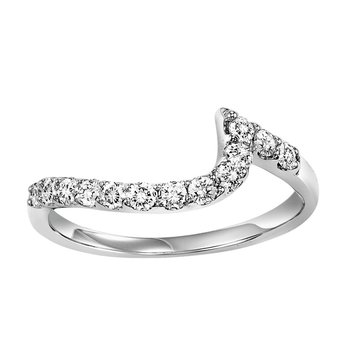 14K Diamond Matching Band 1/2 ctw to match 1 1/2 ctw Ring