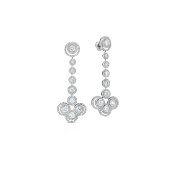 Cento Pave Antique Venetian Earrings