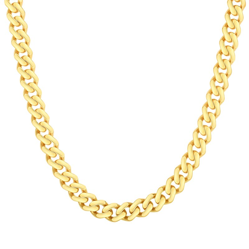 Royal Chain 14K Gold 6.5mm Lite Miami Cuban
